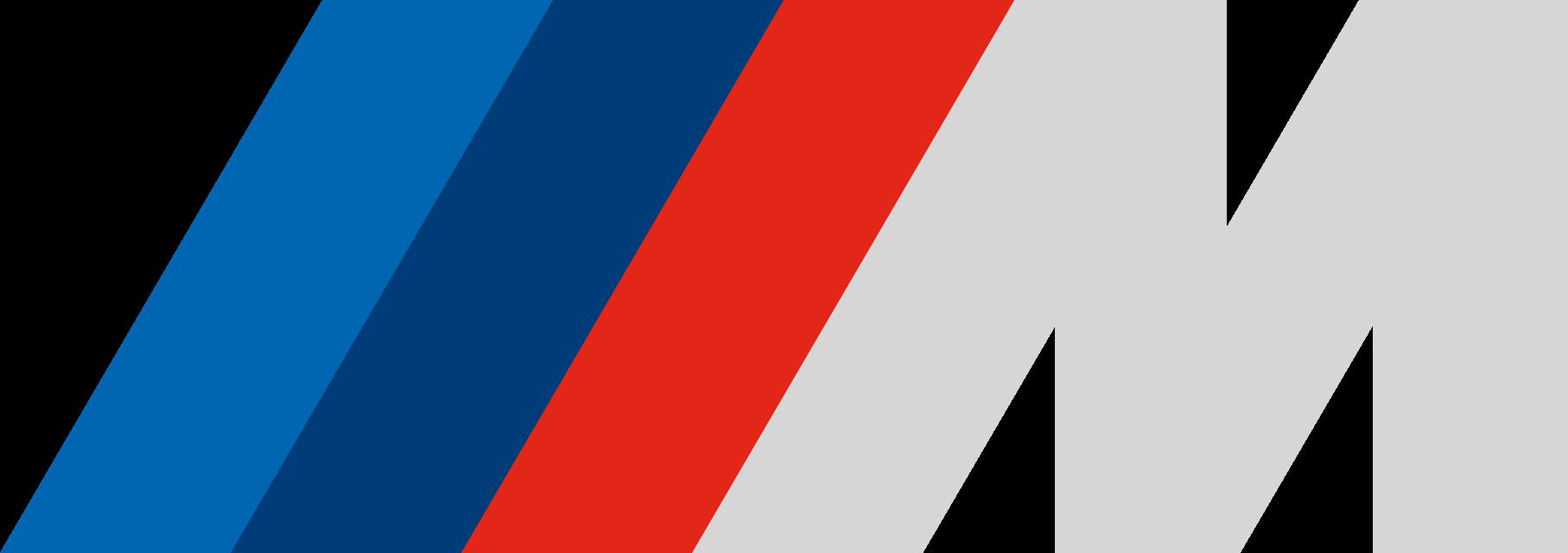 BMW M Logo grey