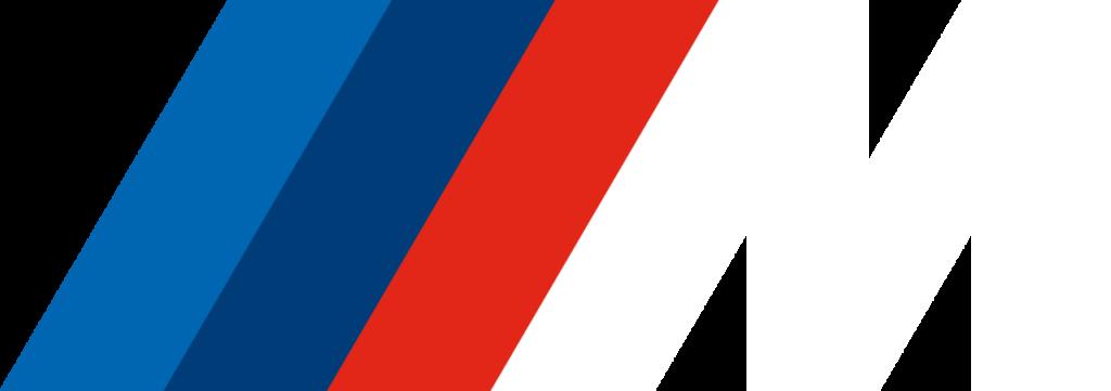 BMW M Logo white