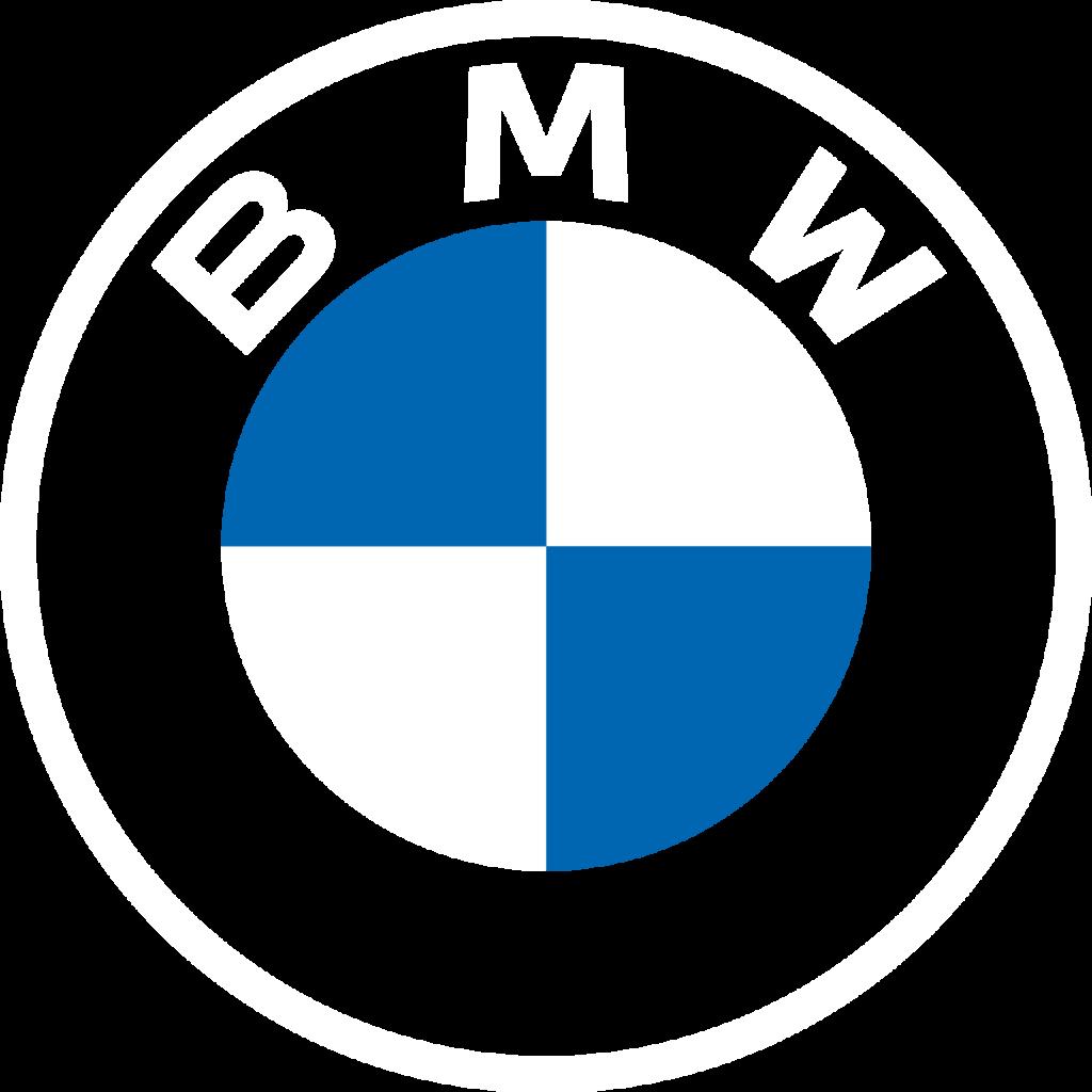 bmw logo white