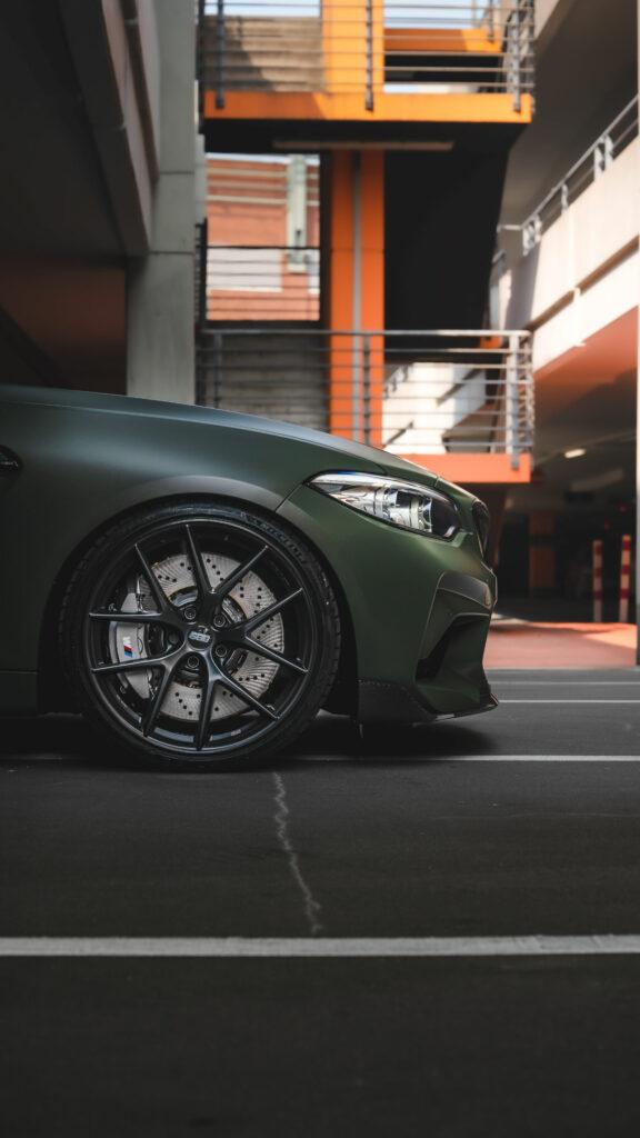 Front des BMW M2 Hunter