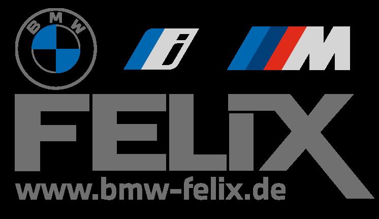 BMW Felix Logo Grau transparent