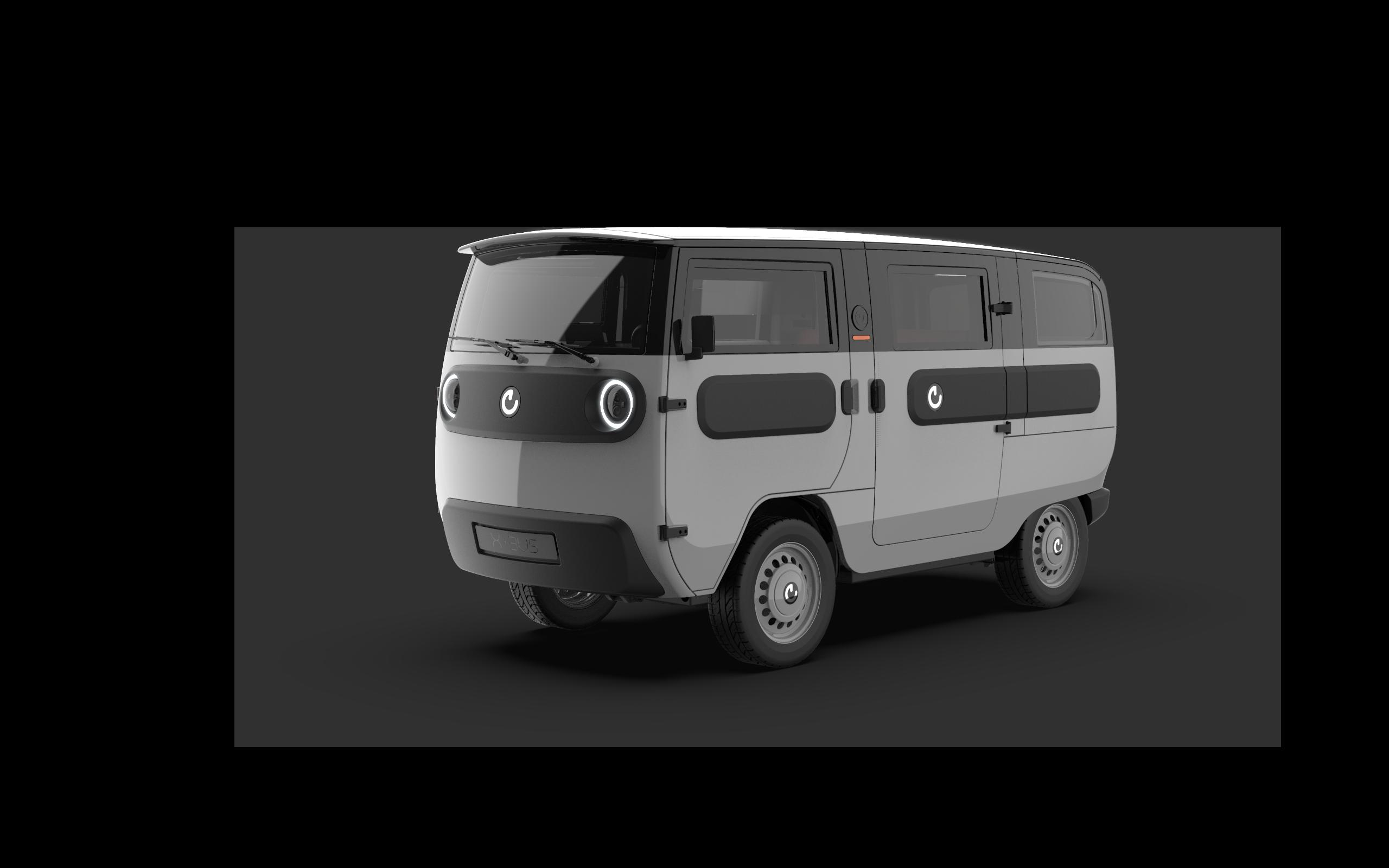 XBUS_Standard_Bus_front_grey